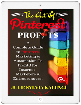 THE ART OF PINTEREST PROFITS: On The blogger's pit stop #82