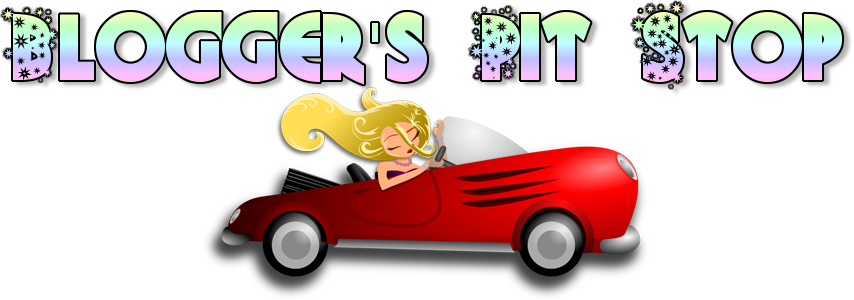 The Blogger's Pit Stop header