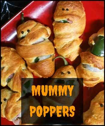 Mummy poppers Blogger's Pit Stop #239