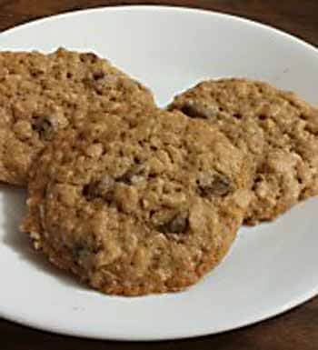 GF Oatmeal cookies Blogger's Pit Stop #248