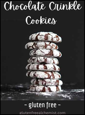 Crinkle cookies Blogger's Pit Stop #253