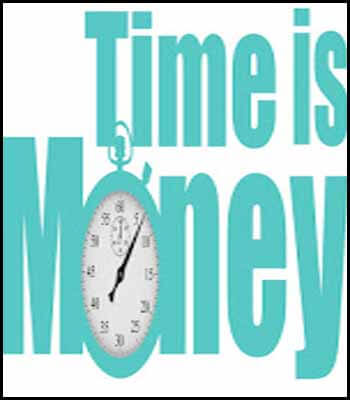 Time is money Blogger's Pit Stop #253