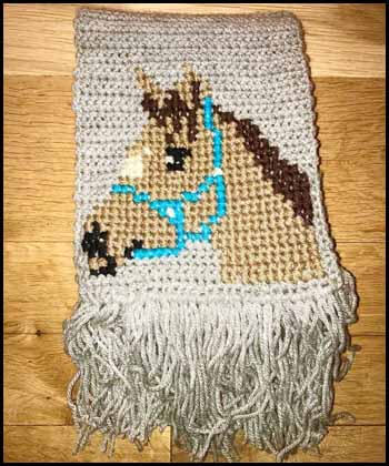 Horse shawl Blogger's Pit Stop #255