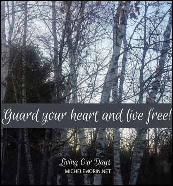 Guard your heart Blogger's Pit Stop #257