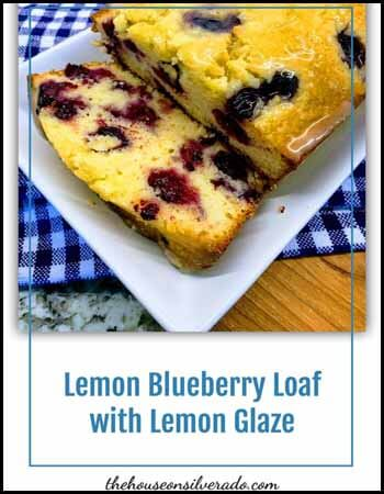Lemon Blueberry Blogger's Pit Stop #260