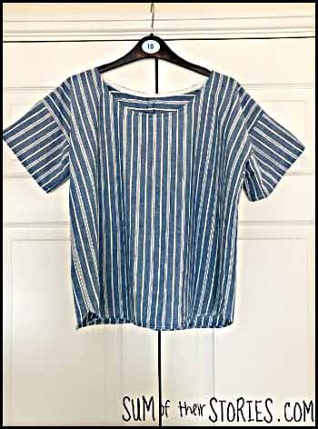 Shirt makeover Blogger's Pit Stop #266