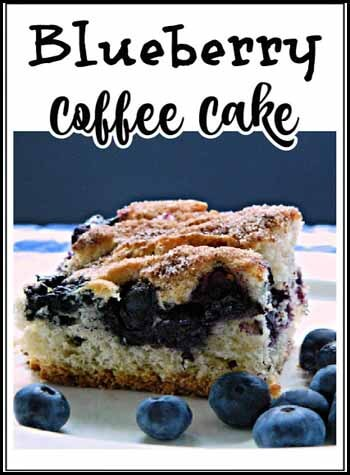 Coffee cake CEASE STRIVING…STAND! by Pam